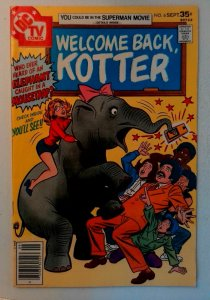 Welcome Back Kotter #6 DC 1977 VF Bronze Age 1st Printing Comic Book