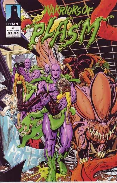 Warriors of Plasm #2, NM- (Stock photo)