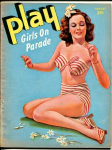 Play Girls On Parade 8/1944-cheesecake Janes pin-up cover-spicy girls-FN-