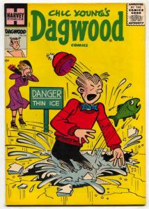 Dagwood #63 1956- thin ice cover- VF+