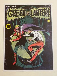 Green Lantern #1 DC Comics poster by Howard Purcell