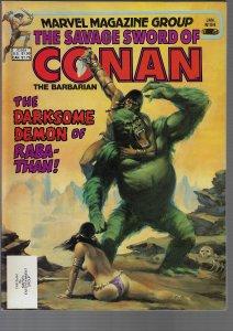Savage Sword of Conan #84 (Marvel, 1982)
