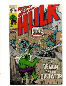 Incredible Hulk # 133 VF- Marvel Comic Book Iron Man Captain America Thor BJ1