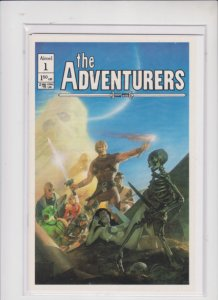 THE ADVENTURERS  #1 AIRCEL  / HIGH QUALITY