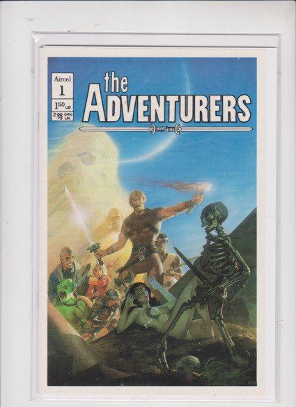 THE ADVENTURERS  V1 #1 AIRCEL  / HIGH QUALITY