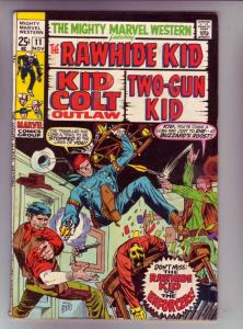 Mighty Marvel Western #11 (Nov-70) VF/NM High-Grade Rawhide Kid, Kid Colt, Tw...