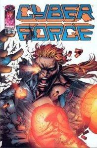 Cyberforce (1993 series) #15, VF (Stock photo)