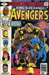 Marvel THE AVENGERS (1963 Series) Annual #9 VF