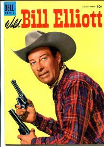 Wild Bill Elliott #16 1954-Dell-movie photo cover-VF/NM