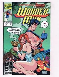 Wonder Man #2 VF Marvel Comics Comic Book Oct 1990 DE41 AD18