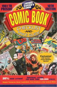 Comics Buyer's Guide Comic Book Checklist & Price Guide #2004 FN; Krause | save