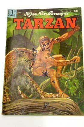 TARZAN-#66-DELL COMIC-L@@k! RARE G/VG