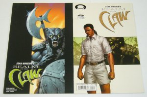 Stan Winston's Realm of the Claw #1-2 VF/NM complete series jungle panthers B