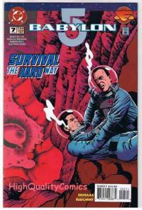 BABYLON 5 #7, NM+, Sci-Fi, TV, Straczynski, Aliens, 1995, more in store