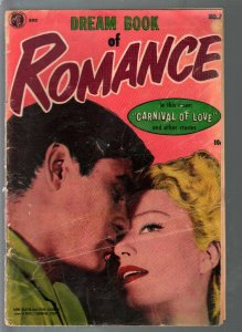Dream Book of  Romance #7 1954-ME-Anne Baxter photo cover-Bob Powell-G/VG