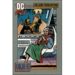 1991 DC Cosmic Cards - KANJAR RO #134