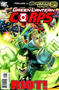 Green Lantern Corps #36 (ungraded) stock photo / ID#00E