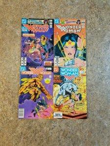 Wonder Woman Vol 1 Lot of 4 DC Comics FN/VF #289 #297 #307 #314 VINTAGE Gift
