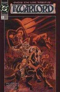 Warlord (Mini-Series) #5 FN; DC | save on shipping - details inside