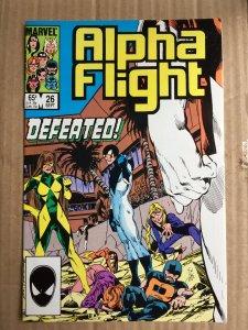 Alpha Flight #26