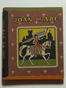 Joan of Arc 1934 Wee Little Book #513 Whitman