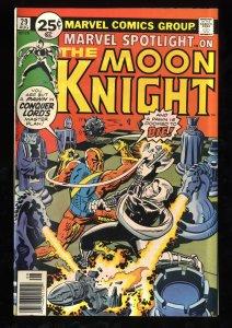 Marvel Spotlight #29 FN 6.0 2nd Solo Moon Knight!