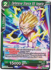 Dragon Ball Super CCG - Miraculous Revival - Defensive Stance SS Vegeta