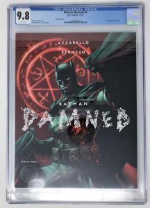 Batman Damned #1 1st App. DC Black Label - CGC 9.8 Jim Lee Variant - KEY