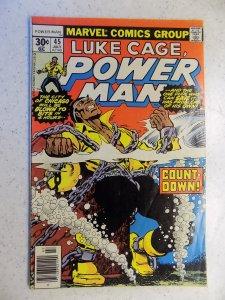 LUKE CAGE POWER MAN # 45 MARVEL TV ACTION STEEL ADVENTURE
