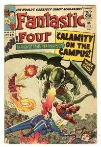 Fantastic Four 35   1st Dragon Man