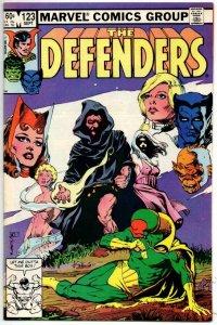 DEFENDERS #123, VF/NM, Vision Scarlett Witch Hulk 1972 1983 Marvel