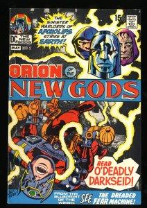 New Gods #2 VF 8.0 1st Darkseid Cover!