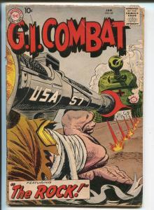 G.I. Combat #68 1959-DC-1st Sgt Rock prototype-Joe Kubert-Russ Heath-G