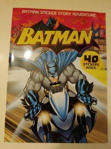 Batman Sticker Story Adventure BOOK --- Contains 40 STICKERS January 2008 JOKER