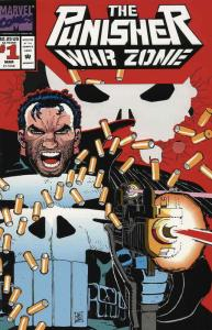 Punisher, The: War Zone #1 VF/NM; Marvel | save on shipping - details inside