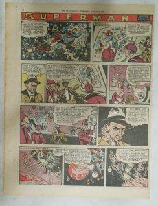 Superman Sunday Page #905 by Wayne Boring from 3/3/1957 Size ~11 x 15 inches