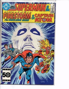 DC Comics Presents #90 Superman and Firestorm & Captain Atom  VF