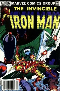 Iron Man (1st Series) #162 (Newsstand) FN; Marvel | save on shipping - details i