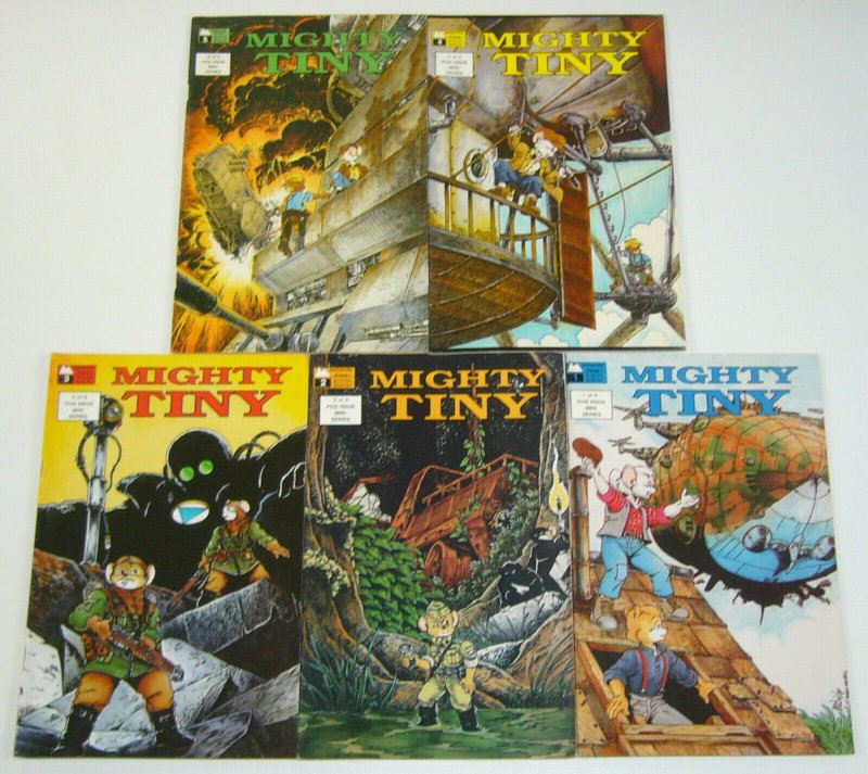 Mighty Tiny #1-5 FN complete series - ben dunn - antarctic press set lot 2 3 4
