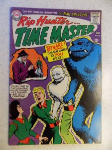 RIP HUNTER TIME MASTER # 28 DC SILVER ACTION ADVENTURE TV