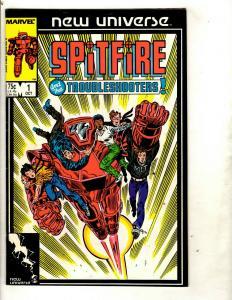 Lot of 13 Marvel Comics Spitfire 1 Merc 9 8 7 6 5 4 3 2 1 Kickers 5 2 1 DS2