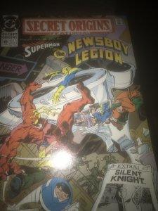 DC Secret Origins #49 Mint Feat Superman