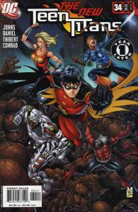 Teen Titans (3rd Series) #34 VF/NM; DC | save on shipping - details inside