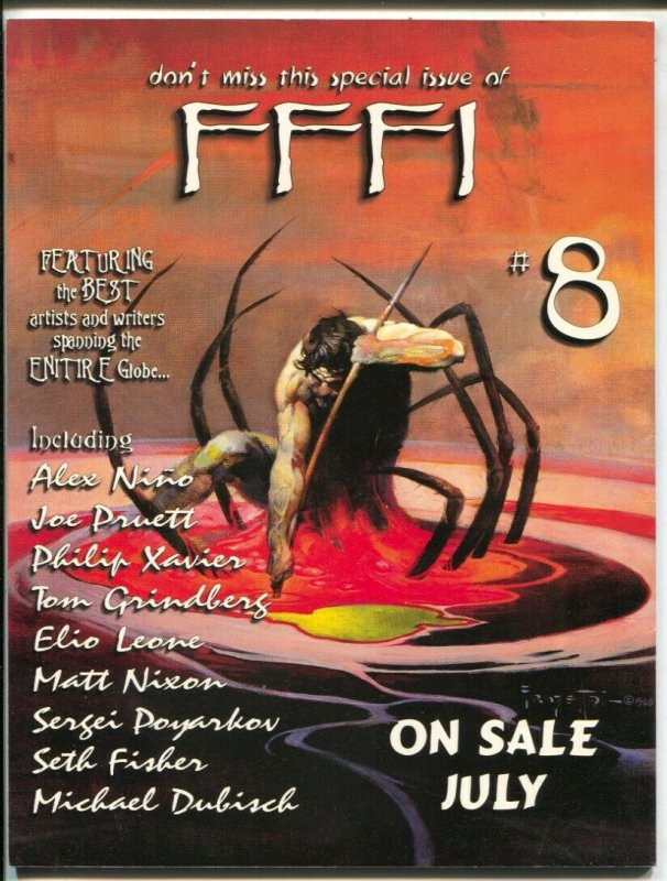 Frank Frazetta Fantasy Illustrated #7 7/1999-Frazetta cover-Alan Dean Foster-FN