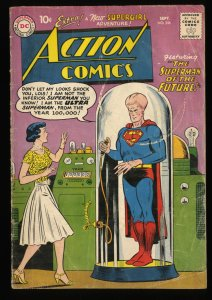 Action Comics #256 GD 2.0 Agent X-3! Future Superman! DC Superman