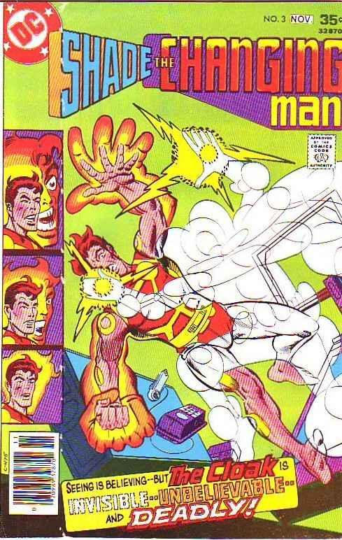 Shade the Changing Man #3 (Nov-77) VF- High-Grade Shade
