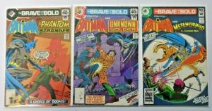 Whitman Brave and the Bold Lot #145 + #146 + #154 1st Series 4.0 VG (1978)