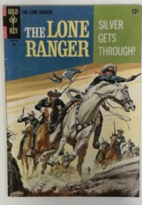 The Lone Ranger 7  FN  Gold Key 1967  Silver Age  Western Cowboy Comics