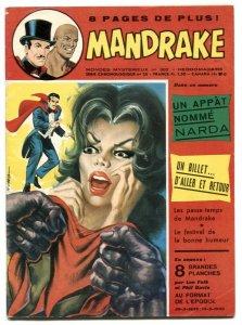 Mandrake the Magician #382 1972- French comic FN
