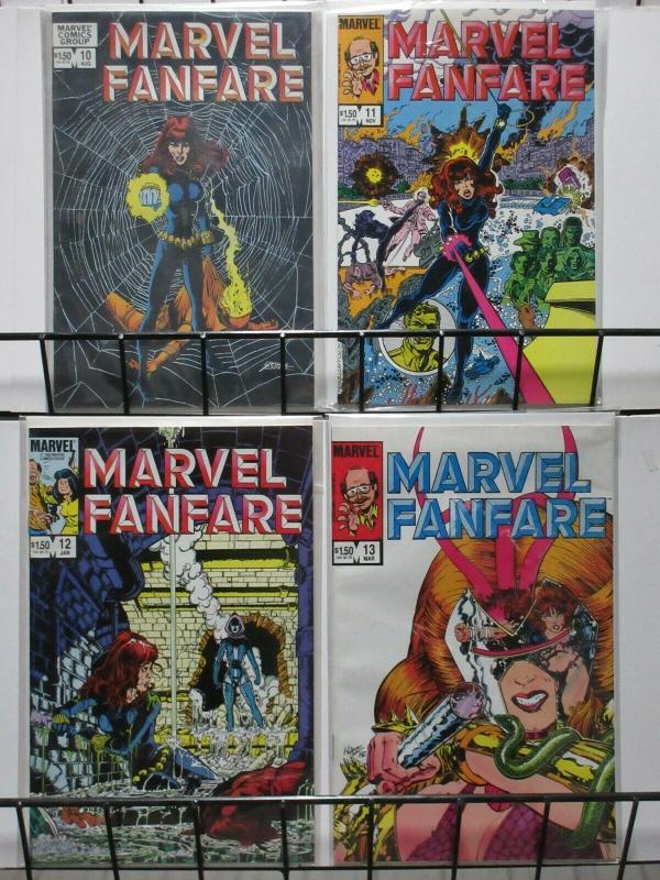MARVEL FANFARE (Marvel, 1982) #1-44,46-60 VF-NM! Byrne, Golden, Miller, Perez
